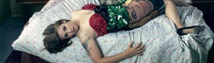 Lena Dunham llega a la portada de Vogue conpolémica
