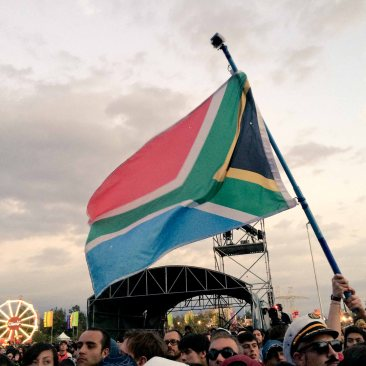 Sudáfrica presente