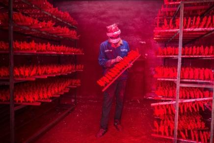 La verdadera fábrica deSanta