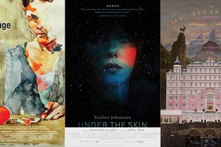 Los mejores afiches de películas del 2014 segúnmubi.com