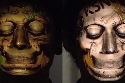 Face Hacking: Trackeo de rostro en tiempo real y proyección mapping3D