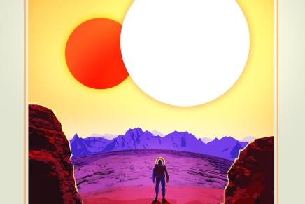 """La NASA te invita a """"visitar"""" estos exoplanetas con sus nuevosposters"""