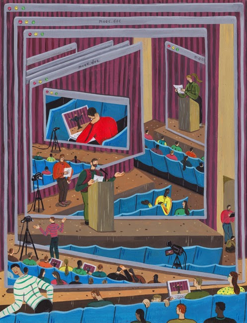 MOOC Illustration Brecht Vandenbroucke