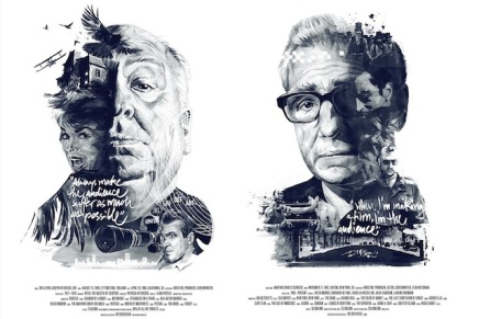 Las ilustraciones de tus directores favoritos y sus mejorespelículas
