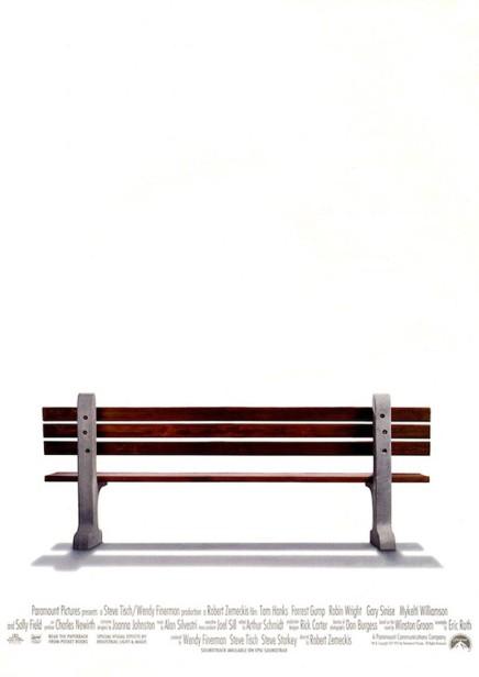 Afiches de películas vacíos: sin títulos ni suspersonajes