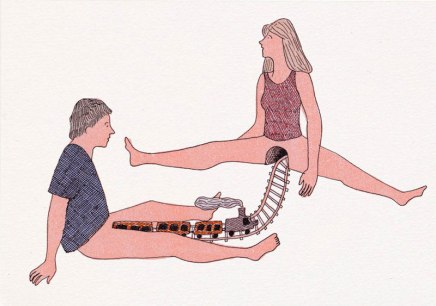 Ilustración erótica SFW