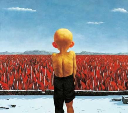 Aturdido y sin palabras: La pintura de ZhangLinhai
