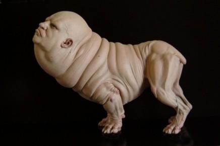 Las esculturas grotescas de NoéSerrano