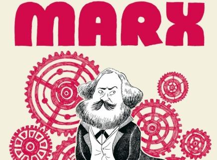 Vida y legado de Karl Marx en formatocomic