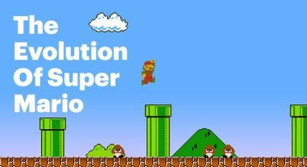 La evolución de Super Mario/ 30 años/Digg