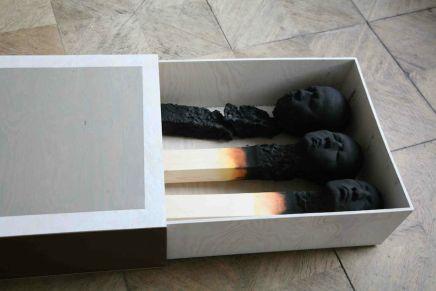 Matchstick Men /Wolfgang Stiller/Esculturas