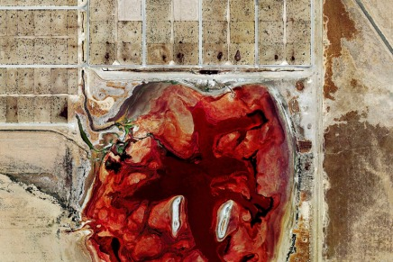 Mishka Henner/The Fields y Feedlots/ Fotografías satelitales
