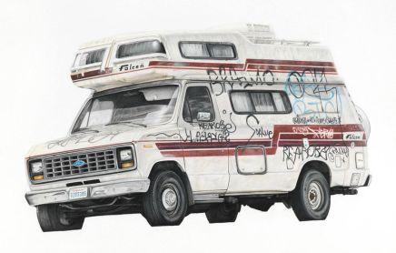 Paul White/ Wasteland/ Ilustraciones alápiz